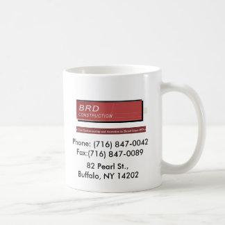 BRD construction coffee mug