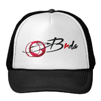 Brda wineyards and wine stain trucker hat