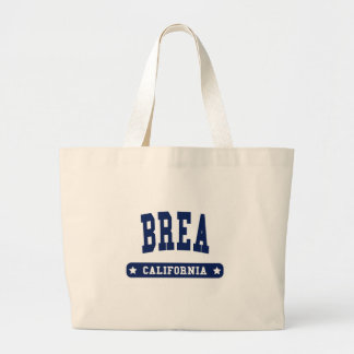 Brea California College Style t shirts Canvas Bags