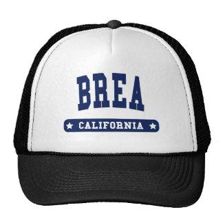 Brea California College Style t shirts Trucker Hat