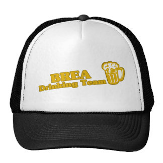Brea Drinking Team tee shirts Hat