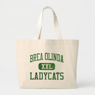 Brea Olinda Ladycats Athletics Canvas Bag