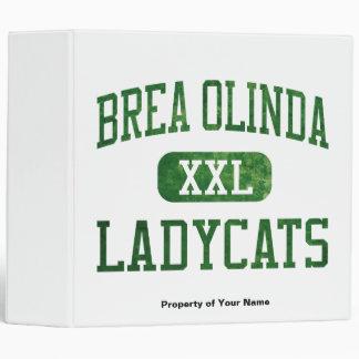 Brea Olinda Ladycats Athletics Binder