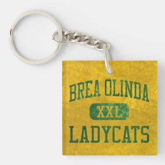 Brea Olinda Ladycats Athletics Keychain