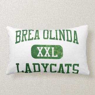 Brea Olinda Ladycats Athletics Lumbar Pillow