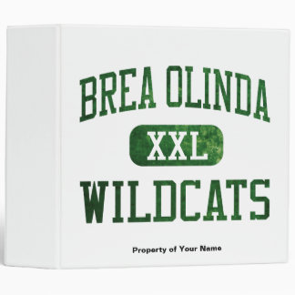 Brea Olinda Wildcats Athletics Binder