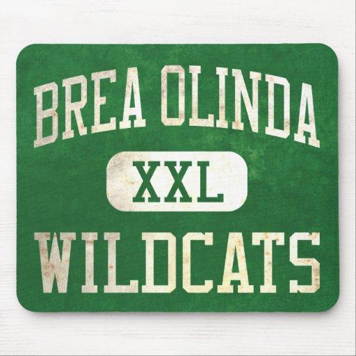 Brea Olinda Wildcats Athletics Mouse Pad
