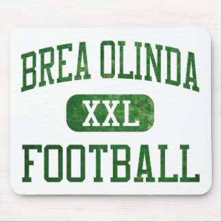 Brea Olinda Wildcats Football Mouse Pad