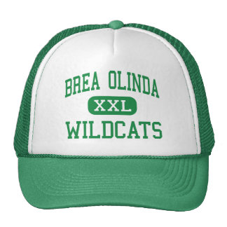 Brea Olinda - Wildcats - High - Brea California Trucker Hat