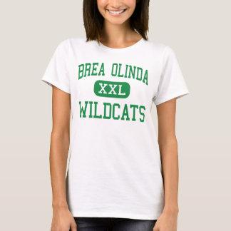 Brea Olinda - Wildcats - High - Brea California T-Shirt