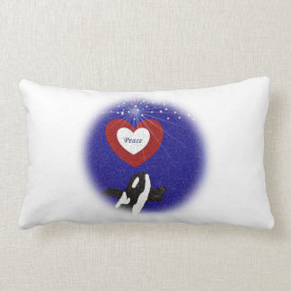 Breach for peace Killer whale pillow