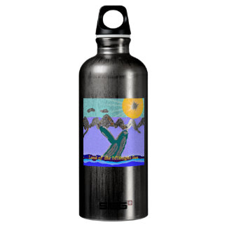 Breach to the Midnight sun Humpback Whale SIGG Traveler 0.6L Water Bottle