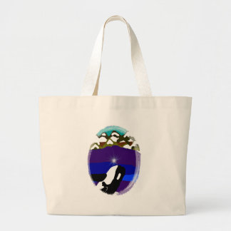 Breach to the Mountains Killer Whale Canvas Bags