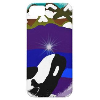 Breach to the Mountains Killer Whale iPhone 5 Covers