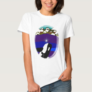 Breach to the Mountains Killer Whale T Shirts