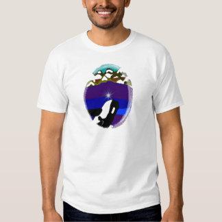 Breach to the Mountains Killer Whale Tee Shirts