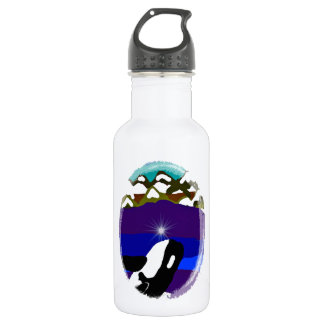 Breach to the Mountains Killer Whale Water Bottle