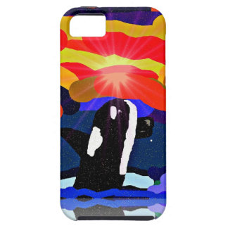 breaching for love Orca design gifts iPhone 5 Cover