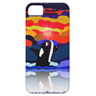 breaching for love Orca design gifts iPhone 5 Cases