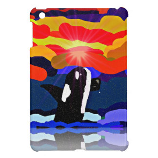 breaching for love Orca design gifts Case For The iPad Mini