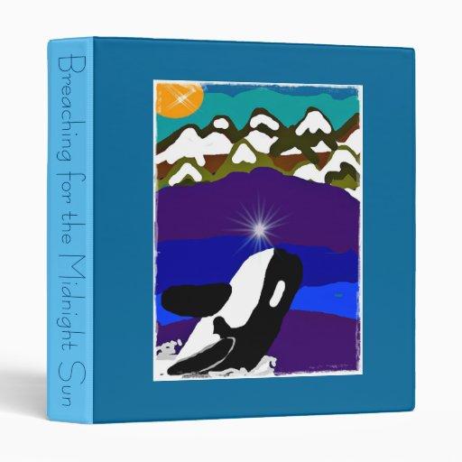 Breaching for the midnight sun killer whale binder