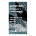 Breaching Humpback Whale Business Cards
