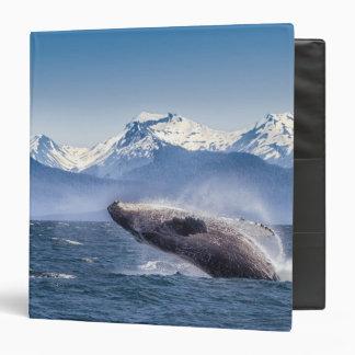 Breaching Humpback Whale In Alaska Binder