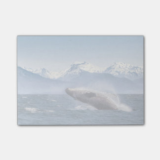 Breaching Humpback Whale In Alaska Post-it® Notes