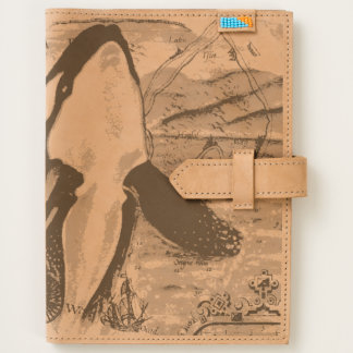 Breaching Orca Ancient Map Journal