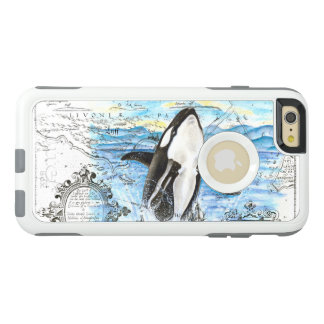 Breaching Orca Ancient Map OtterBox iPhone 6/6s Plus Case