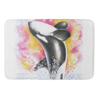 Breaching Orca Bathroom Mat