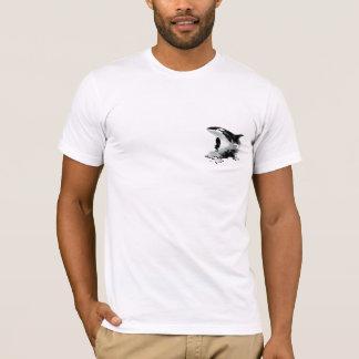 BREACHING ORCA Painting T-shirt