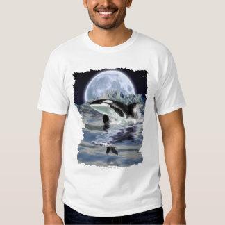 BREACHING ORCA, RAVEN & MOON T-Shirt