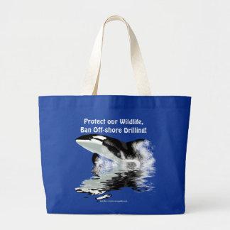 BREACHING ORCA Widllfie Tote Bag