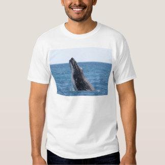 Breaching Whale T Shirt