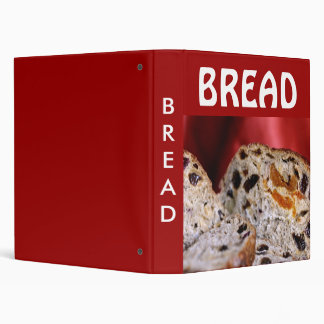 Bread 3 Ring Binder