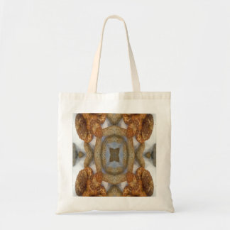 Bread abstract pattern budget tote bag