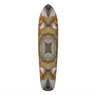 Bread abstract pattern skate board deck