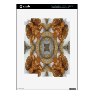 Bread abstract pattern iPad 3 decal