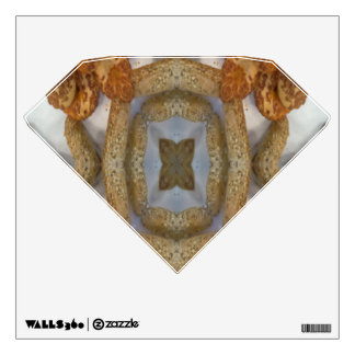 Bread abstract pattern wall decals