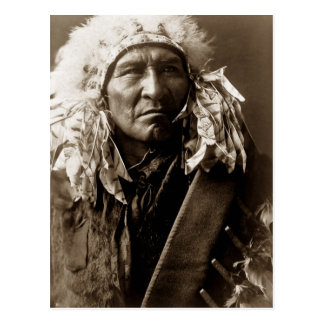 Bread, an Apsaroke Native American Indian Postcard