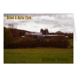 Bread and Butter Farm Greeting Card