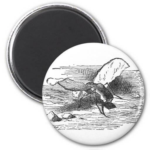 Bread and Butter Fly 2 Inch Round Magnet