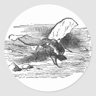 Bread and Butter Fly Classic Round Sticker
