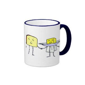 Bread and Butter Kitchen Art Coffee Mug