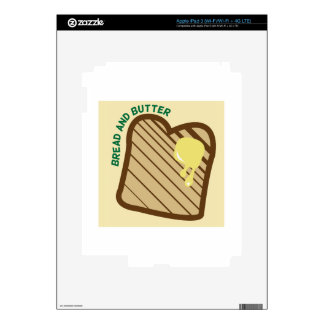 Bread And Butter iPad 3 Decal