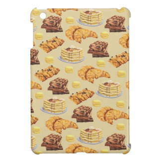Bread and Pancakes Pattern Cover For The iPad Mini
