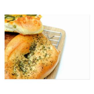 Bread And Rolls Postcard