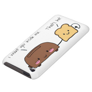 Bread and Toaster Kawaii iPod Touch Case
