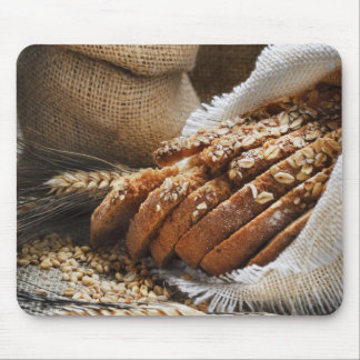 Bread And Wheat Ears Mouse Pad